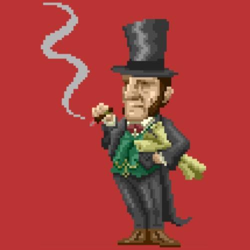 Isambard Kingdom Brunel Pixel - Drawstring Bag