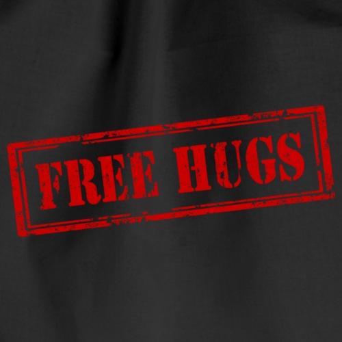 Free Hugs / Freie Umarmung - Turnbeutel