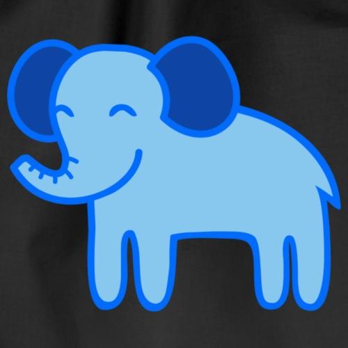 Kinder Comic - Elefant - Turnbeutel