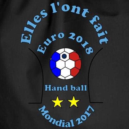 handball euro 2018 bleues championnes doublé 2017 - Sac de sport léger