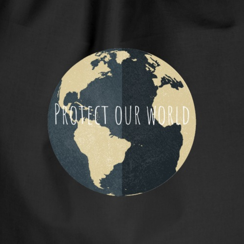 Protect our world - Turnbeutel