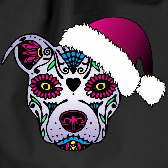Evastylez Mexikanische Totenmaske Hund Turnbeutel