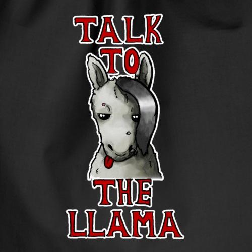 llama - Drawstring Bag
