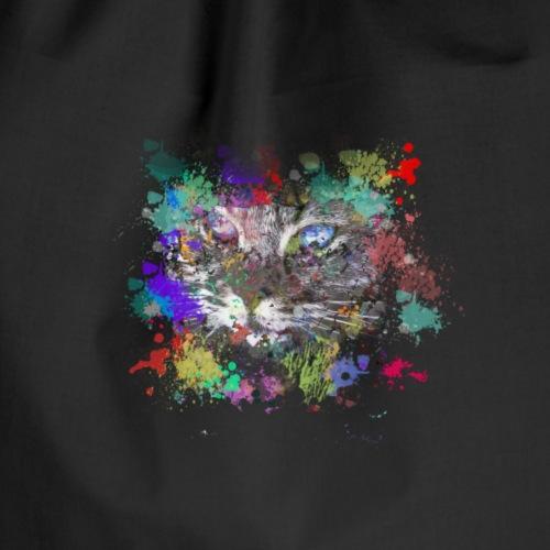 Cat splash Nice gift - Worek gimnastyczny