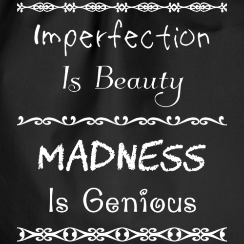 Imperfection Is Beauty (white)