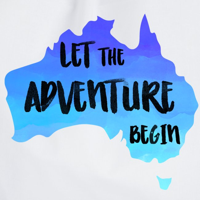 Australien Karte für Backpacker