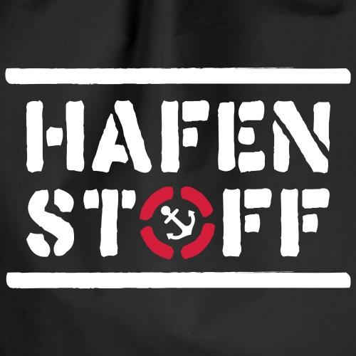 HAFENSTOFF LOGO NEU - Turnbeutel