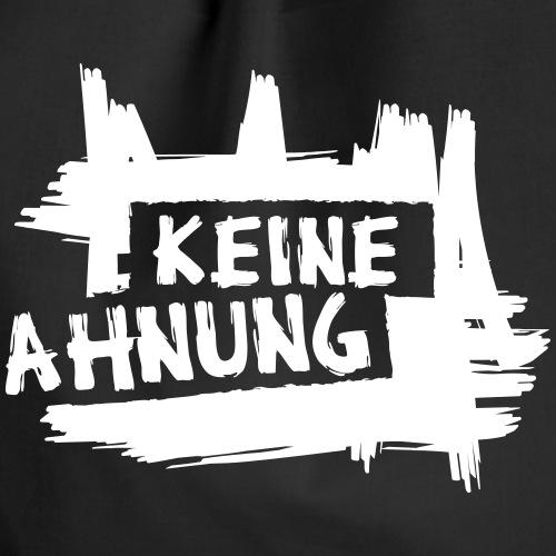 KEINE AHNUNG - Turnbeutel