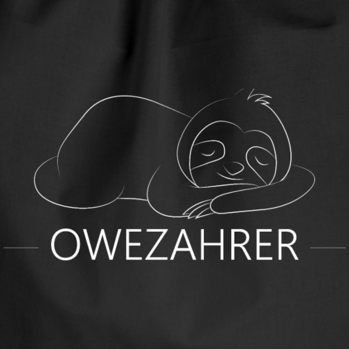 Owezahrer Faultier - Turnbeutel
