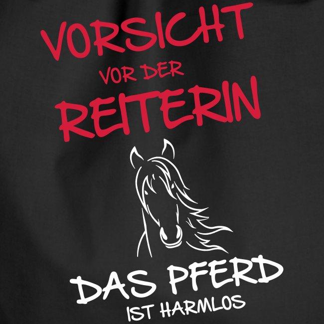 Vorschau: Vorsicht vor der Reiterin - Turnbeutel