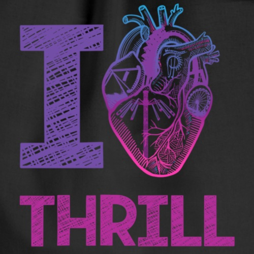 I love Thrill Logo - ParkTube - Turnbeutel