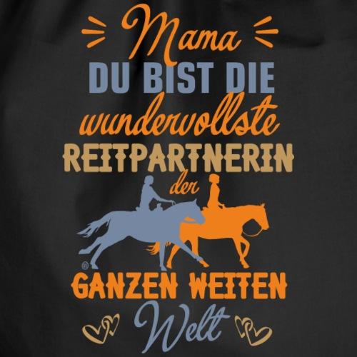 Mama Reitpartnerin - Turnbeutel
