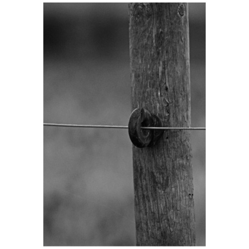 Wire on pole - Drawstring Bag