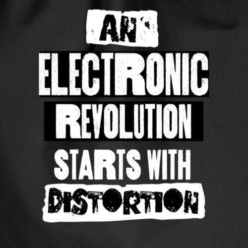 Une révolution électronique commence par la distorsion - Sac de sport léger
