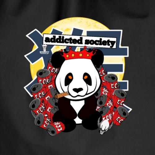 société accro au panda - Sac de sport léger