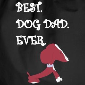 Le meilleur papa jamais chien Pinina - Sac de sport léger