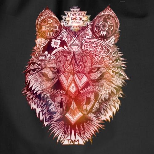 loup navajo ocre - Sac de sport léger