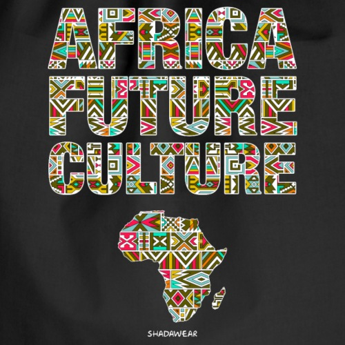 Africa Future Culture - Drawstring Bag