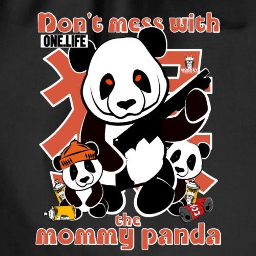 ne plaisante pas avec la maman panda - Sac de sport léger