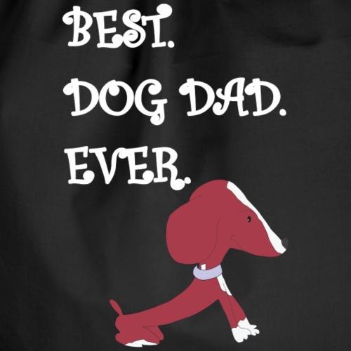 Bester Vati überhaupt Hund Pinina - Turnbeutel