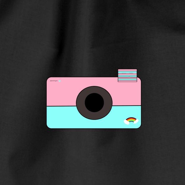 Djoeke de vlogster camera