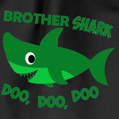 Brother Shark - Drawstring Bag