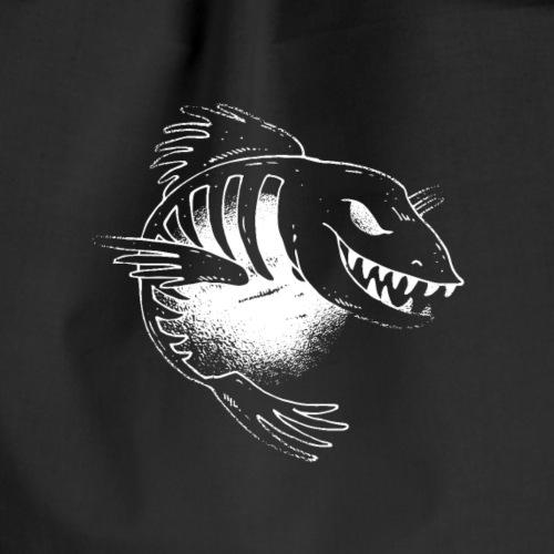 Evil Fish - Drawstring Bag