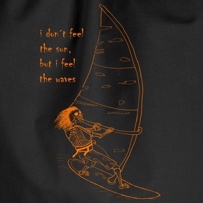 Kitesurfer Skelett Black