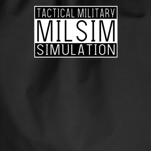 ART15 Milsim Tactical Military Simulation - Sac de sport léger