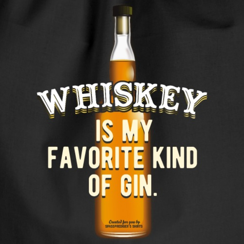 Whiskey Sayings For Clever People - Drawstring Bag