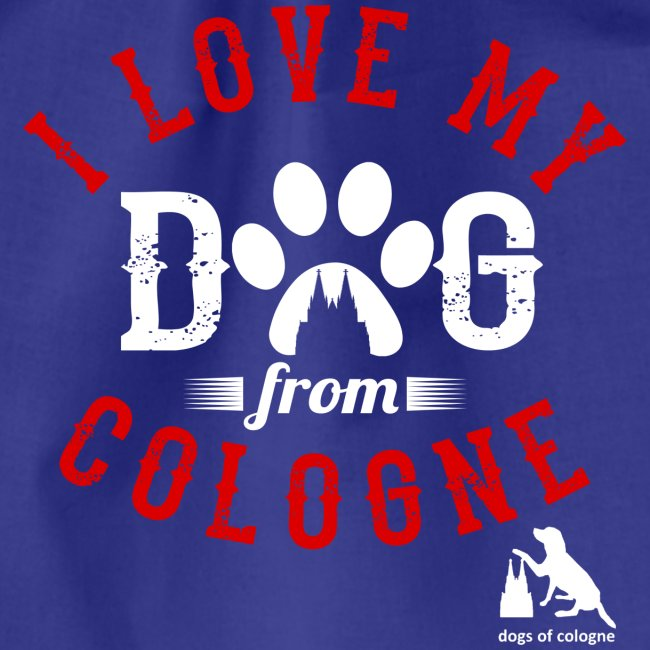 I love my dog from cologne!
