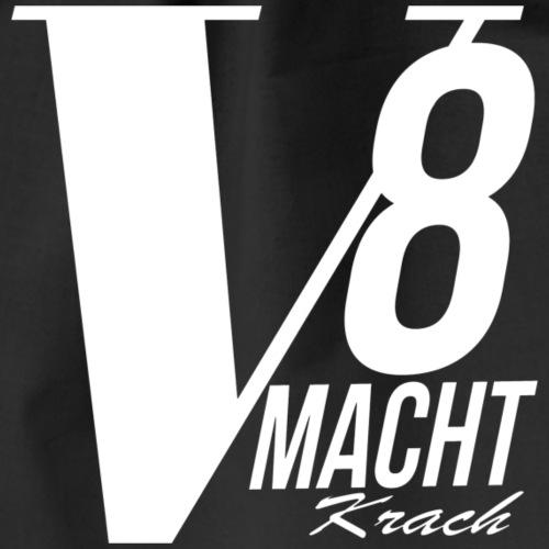 V8 MACHT krach - Turnbeutel