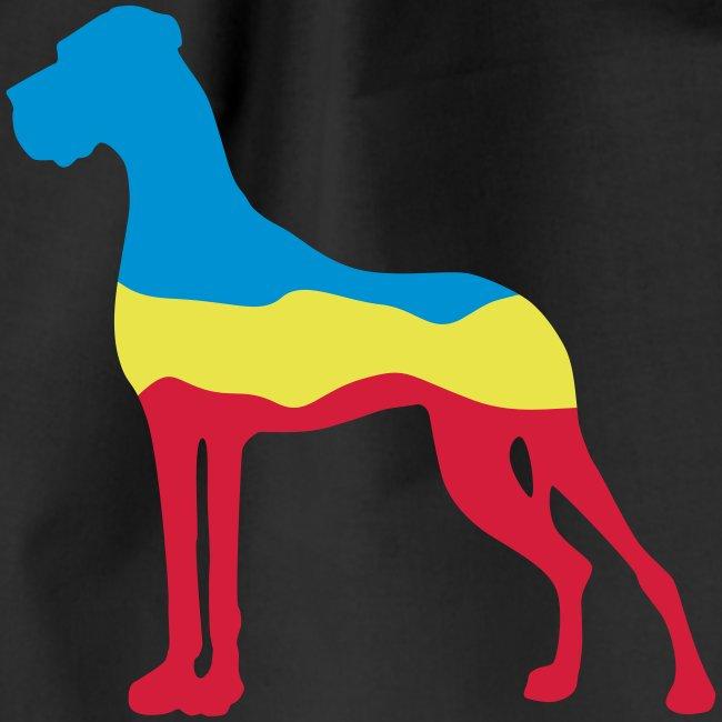 Flaggen Dogge