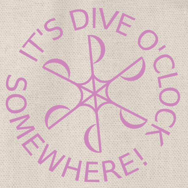 Dive o clock Pink