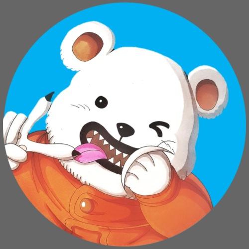 Bear Bepo Fond Bleu - Sac de sport léger