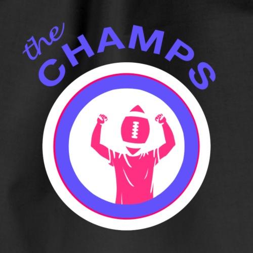 Richtige Champions (Logo purple) - Turnbeutel