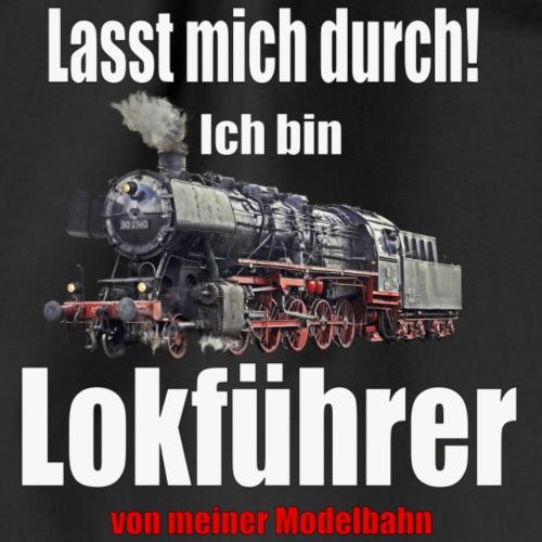 Lokführer - Turnbeutel
