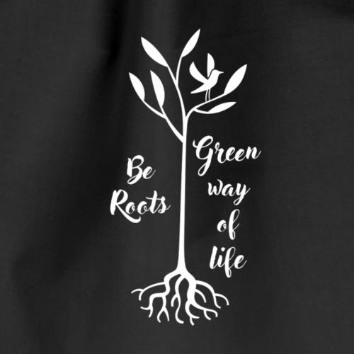 be roots white - Sac de sport léger
