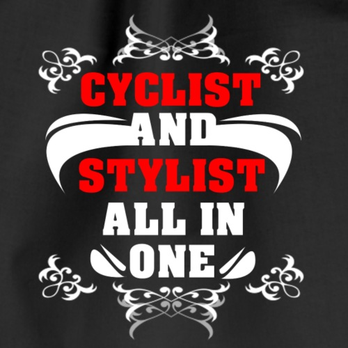 Cyclist and Stylist - Turnbeutel