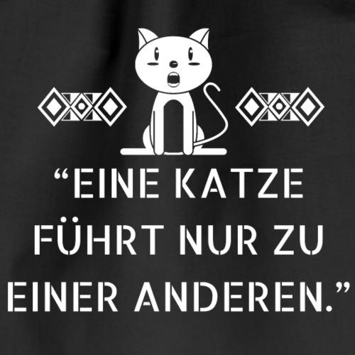 Katzenshirt - Turnbeutel