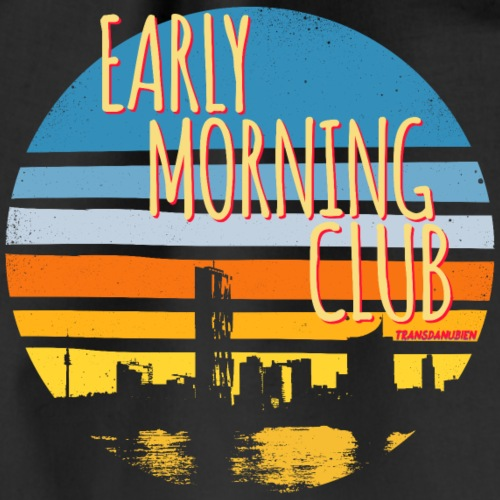 Early Morning Club Transdanubien Skyline Wien - Turnbeutel