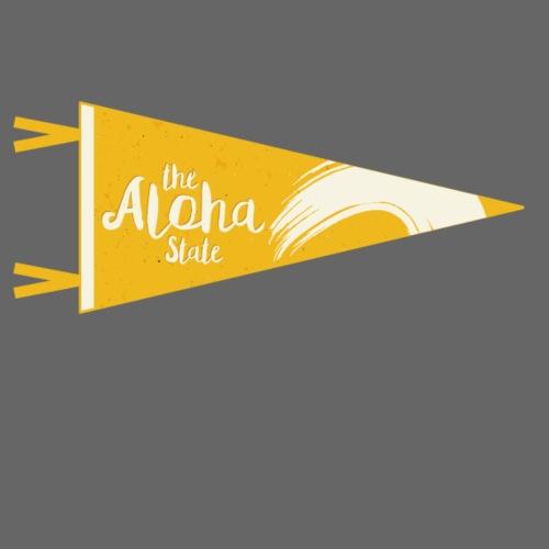 Aloha State gelb - Turnbeutel