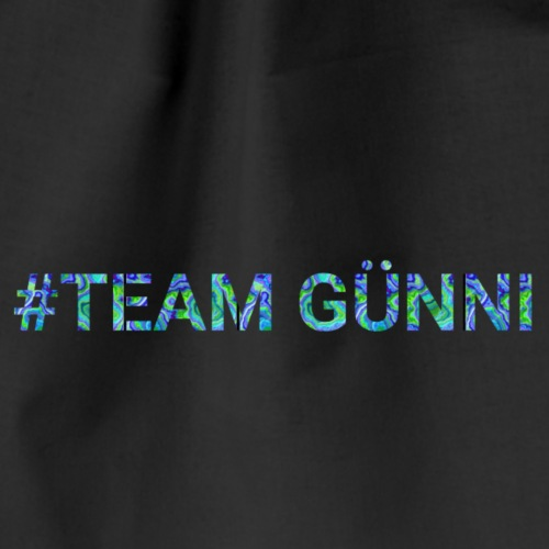 #team GÜNNI - Turnbeutel