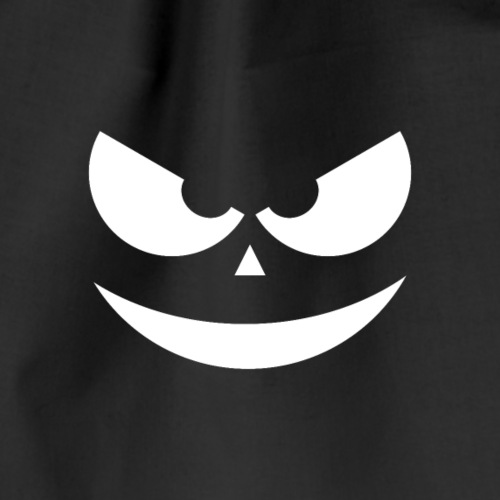 Halloween Scary Face - Turnbeutel