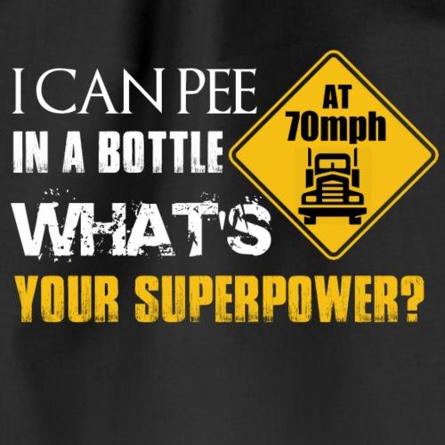 TRUCKER Superpower - Turnbeutel