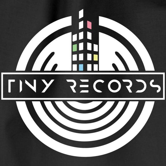 Tiny Records - White Logo