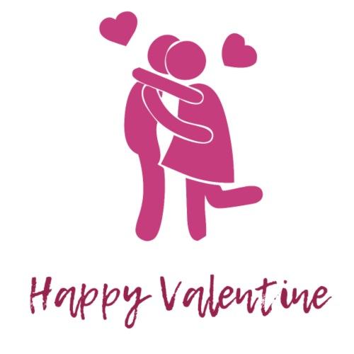 Happy Valentine - Turnbeutel