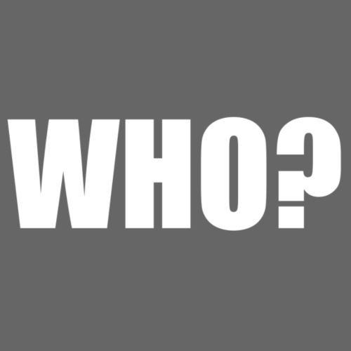 WHO hvid - Sportstaske