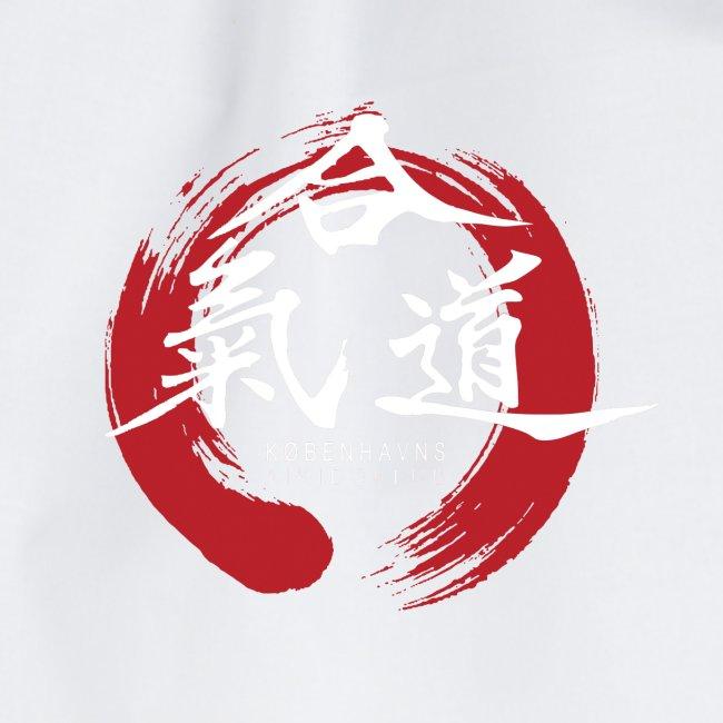 KAK logo white ink