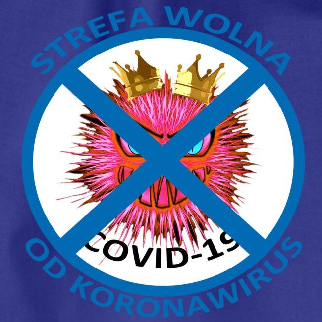 Strefa wolna od Koronawirus - Koszulka anty COVID